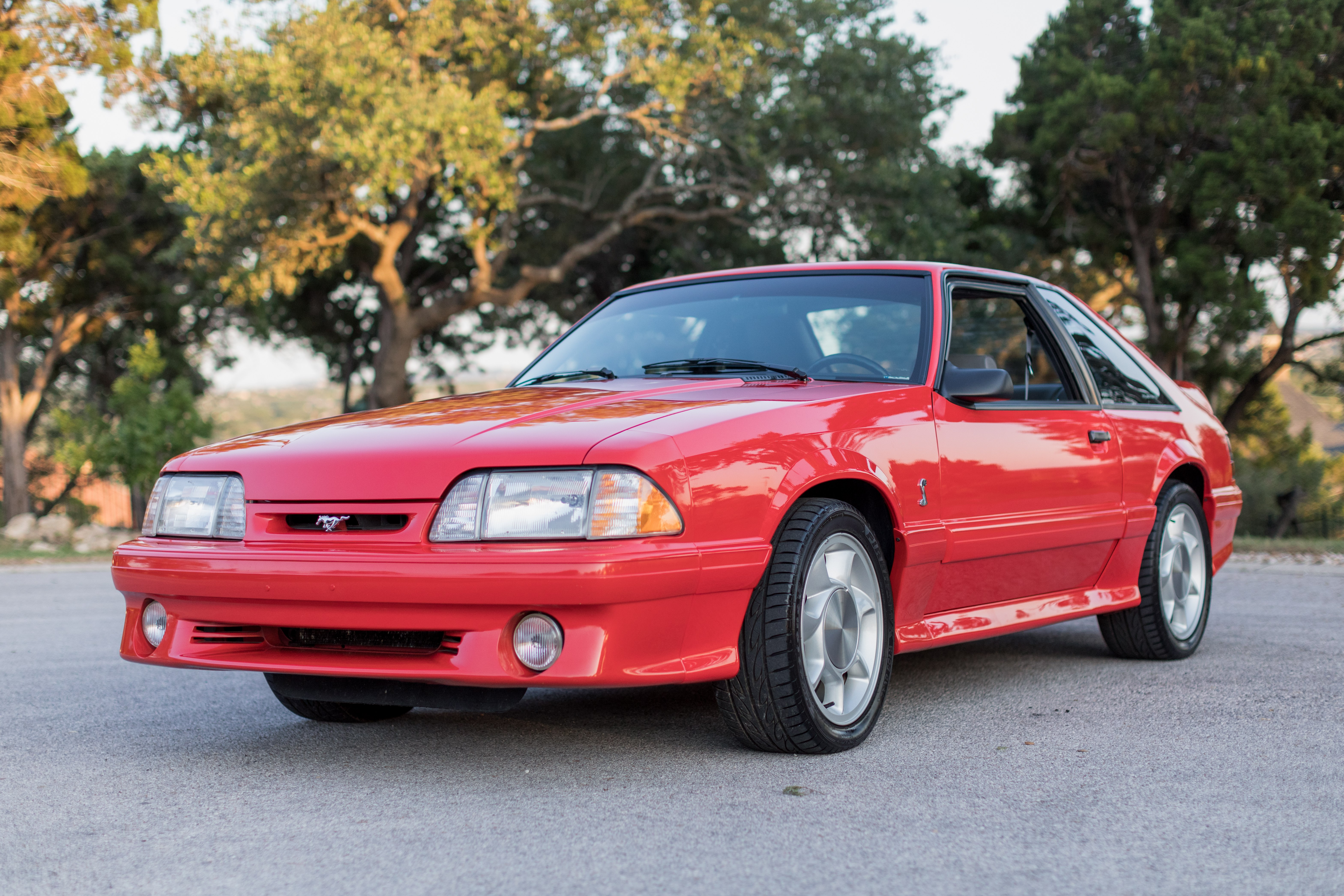 1993-Mustang-Cobra-Vibrant-Red